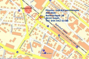Arcada - Physiotherapy, Bankstrasse 36, 8610 Uster